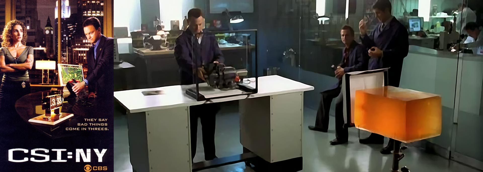 Teclab on CSI:NY