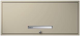 Beige Flipper Door Cabinet
