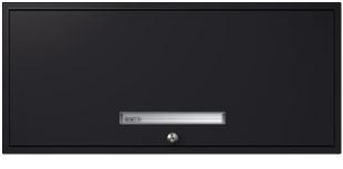 Black Flipper Door Cabinet