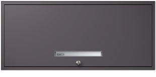 Gunmetal Gray Flipper Door Cabinet