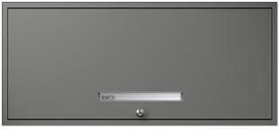 Profile Gray Flipper Door Cabinet