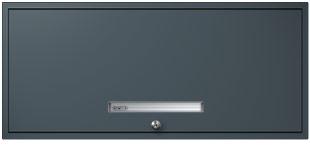 Slate Gray Flipper Door Cabinet