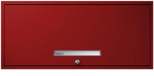 Thermal Red Flipper Door Cabinet