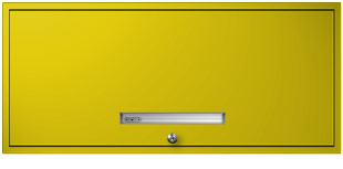 Safety Yellow Flipper Door Cabinet