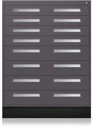 Gunmetal Interlocking Cabinet