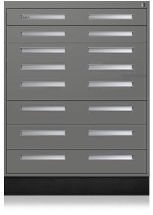 Profile Gray Interlocking Cabinet