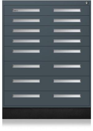 Slate Gray Interlocking Cabinet