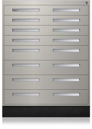 Stainless Steel Interlocking Cabinet