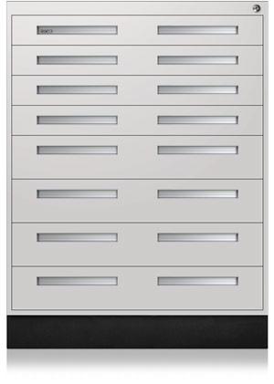 Eggshell Interlocking Cabinet