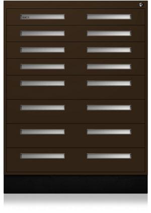 Woodland Brown Interlocking Cabinet