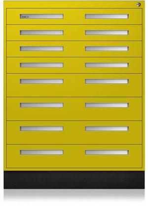 Safety Yellow Interlocking Cabinet