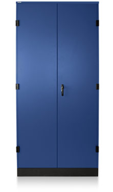 Electric Blue Storage Cabinet