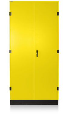 Safety Yellow Storage Cabinet