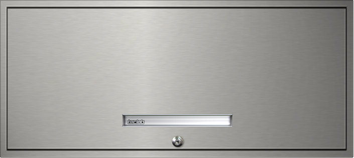 Teclab Stainless Steel Flipper Door Storage Cabinets