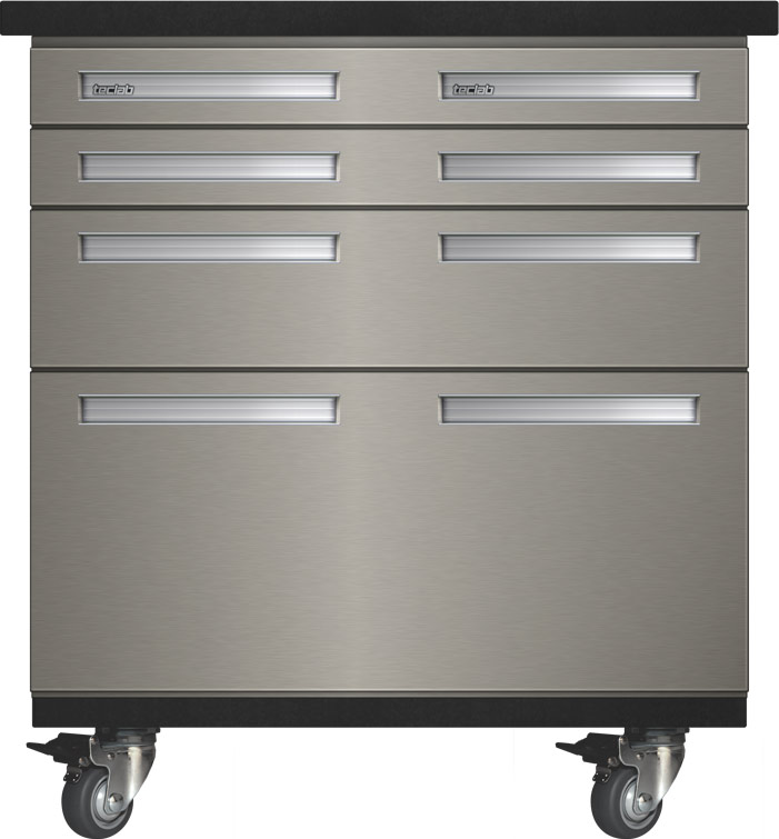 Teclab Stainless Steel Mobile Storage Cabinets