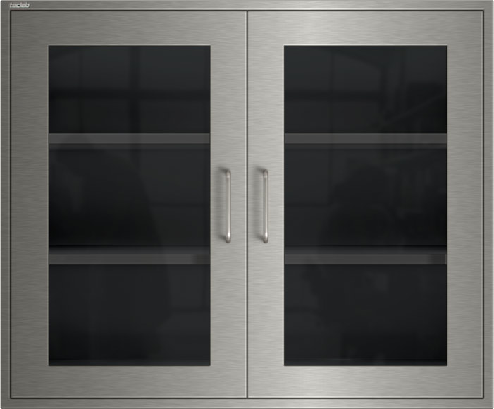 Teclab Stainless Steel Wall Cabinets