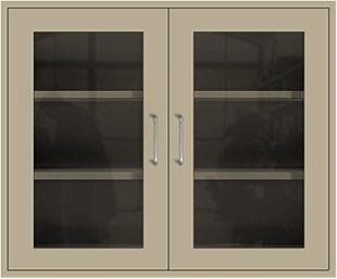 Beige Wall Cabinet