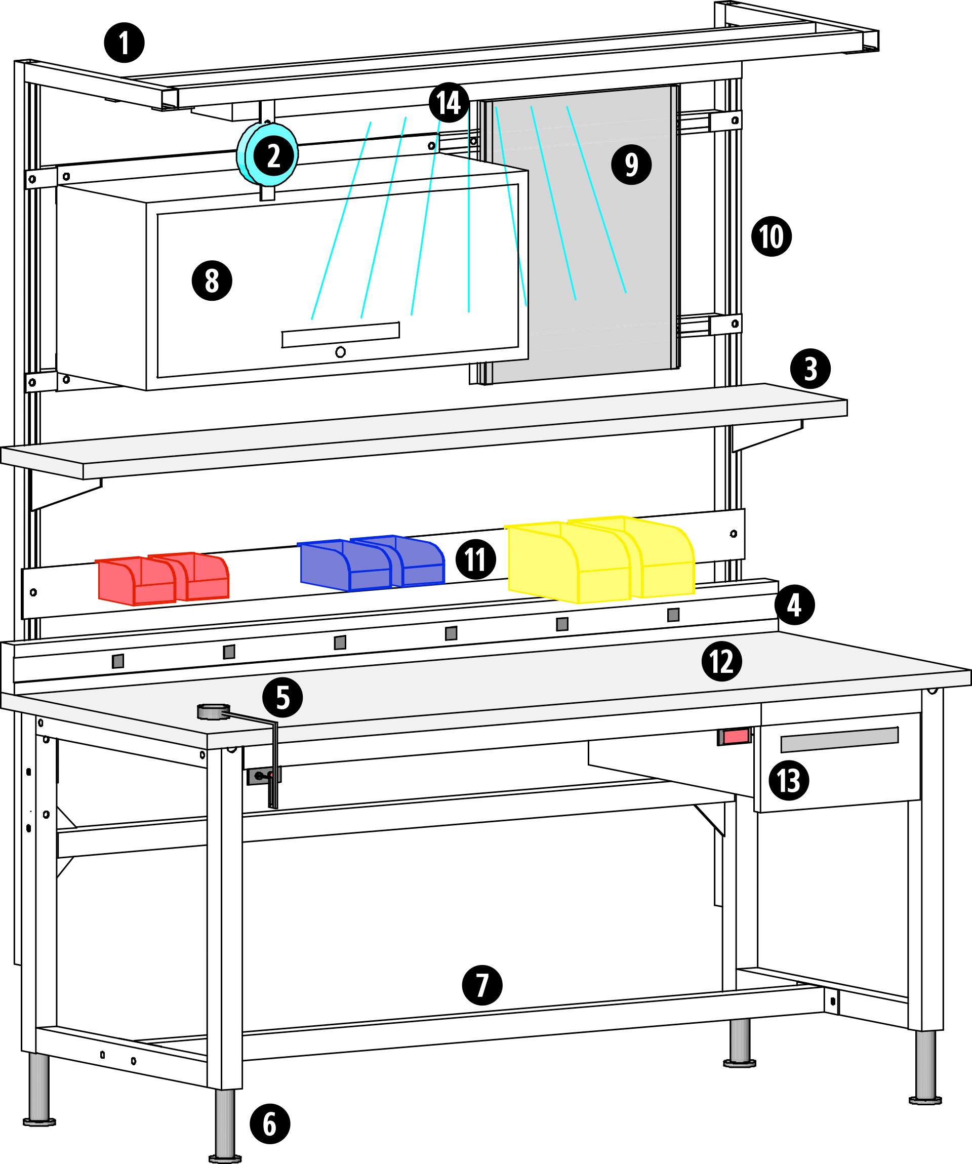 Teclab TES Workbench Options